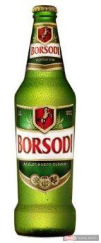 Borsodi üveges sör 0,5l +üv