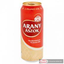 Arany Ászok dobozos sör 0,5l