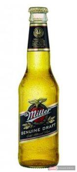 Miller sör 0,33l eldobható üveges