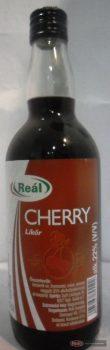 Reál Cherry likőr 22% 0,5l +üv