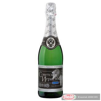 Szovjetszkoje Igrisztoje száraz pezsgő 0,75l
