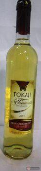 Tokaji Hárslevelű Késői szüretelésű édes fehérbor 0,5l