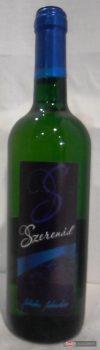 Szerenád félédes fehérbor 0,75l +üveg