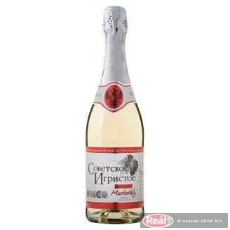 Szovjetszkoje Igrisztoje Muskotály édes fehér pezsgő  0,75l