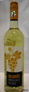 Reál Debrői Hárslevelű félédes fehérbor 0.75l