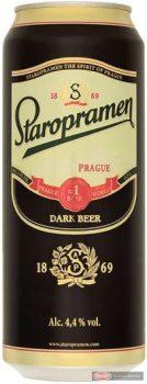 Staropramen Dark barna dobozos Sör 0,5l