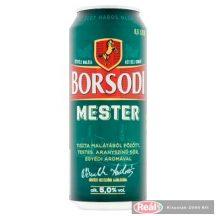 Borsodi Mester dobozos sör 0,5l
