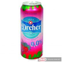 Dreher D24 meggy-szeder íz? alkoholm.világos sör 0,5 l