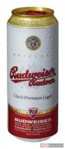 Budweiser Budvar Premium Lager 0,5l dobozos sör