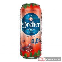 Dreher D24 gránátalma íz? alkoholm.világos sör 0,5l dobozos
