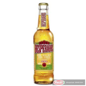 Desperados 0,33l üveges sör