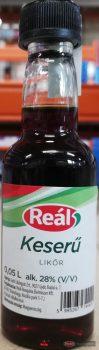 Reál Keserű likőr 28% 0,05l PET palackos