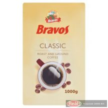 Bravos Classic mletá pražená káva 1000g