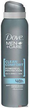 Dove férfi izzadásgátló deospray 150ml Men+Care Clean Comfort