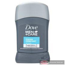 Dove férfi izzadásgátló stift 50ml Men+Care Clean Comfort