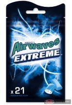 Airwaves Extreme rágógumi 21db zacskós