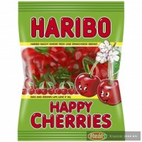 Haribo Happy Cherries -gumené cukríky 100g