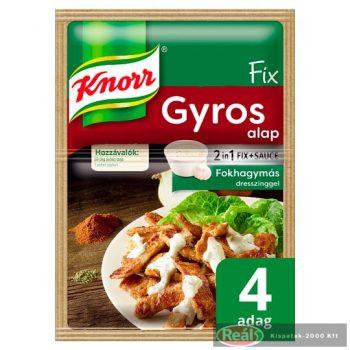 Knorr základ jedla gyros s dressingom 40g