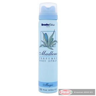 Madlene női izzadásgátló deospray 75ml Magic kék