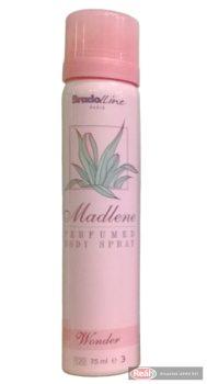 Madlene női izzadásgátló deospray 75ml Wonder rózsaszín