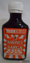 Szilas ételfesték 20g narancssárga