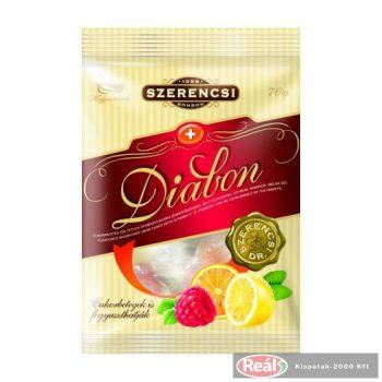 Szerencsi Diabon cukormentes keménycukorka 70g