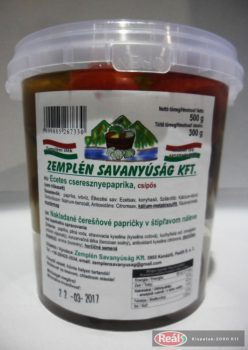 Nakladané čerešňové papriky  300g  pikantné
