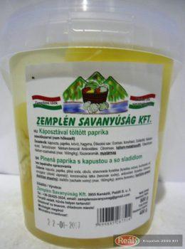 Zempléni káposztával töltött paprika vödrös 400g