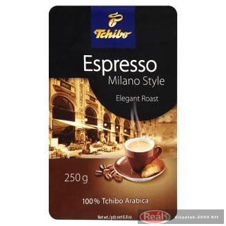Tchibo Espresso Milano Style kávé 250 g őrölt, pörkölt
