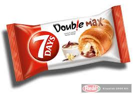 7days croissant 80g double kakaó-vanília