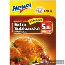 Hewa sütőzacskó 35*43cm 5db