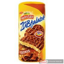 Győri Édes Zabfalatok zabpelyhes omlós keksz 224g csokis
