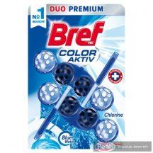 Bref Blue Aktív toalett frissítő 2x50g Chlorine