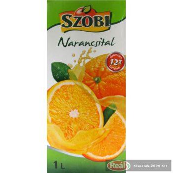 Szobi gyümölcslé 1l narancslé 12% dobozos