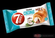 7days croissant s kakaovo kokosovou plnkou  80g