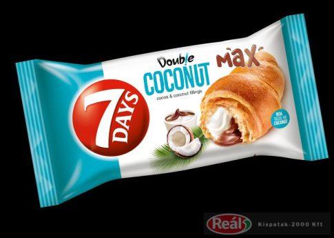 7days croissant 80g double kókusz-kakaó