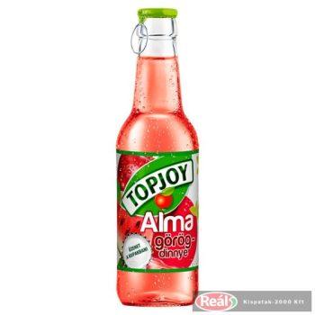 Topjoy ovocný nápoj jablko-melón 250ml, sklo