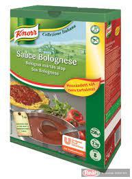 Knorr Bolognai mártás alap hozzáadott só nélkül 2kg