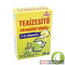 Haas teaízesítő tabletta C-vitaminnal 26g