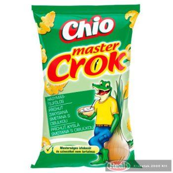 Chio Master Crok 40g hagymás-tejfölös kukoricasnack