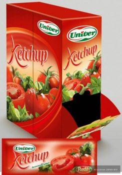Univer mini ketchup 15ml