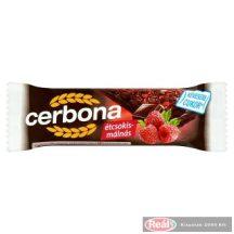 Cerbona müzliszelet 20g étcsokoládés-málnás
