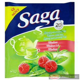 Saga čaj - malinový 20ks