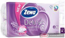 Zewa Deluxe toalettpapír 3 réteg 8 tekercs levendula illat