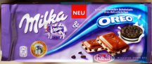 Milka táblás csokoládé 100g oreó vanilia krémes tejcsokoládé