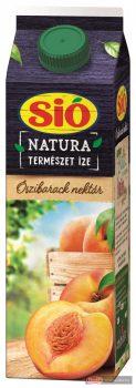 Sió Natura gyümölcslé 1l őszibarack 50% dobozos