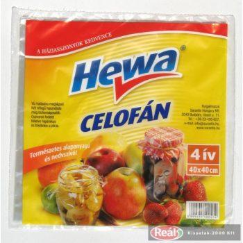 Hewa befőző celofán 4 ív