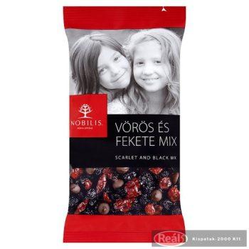 Nobilis vörös és fekete aszalt gyümölcs+étcsoki mix 100 g