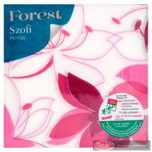 Sofidel Forest Szofi mintás szalvéta 33 x 33mm 1 rétegű 45db