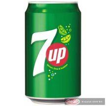 7 up szénsavas üdítőital 0,33l dobozos